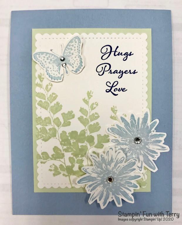 Hugs Prayers Love Card