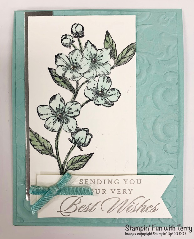 Pool Party Floral Card